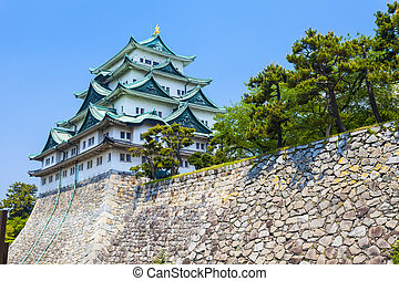 Nagoya Castle in Japan at day