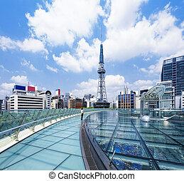 Nagoya downtown daytime, Japan City