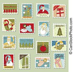 nagy, állhatatos, karácsony, topog, postaköltség