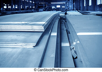 nagy, acél, raktárépület, gyár