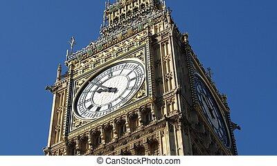 nagy ben, -ban, a, épület parlament, westminster palace, london, uk, -, (16:9, ratio)