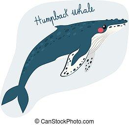 nagy, púpos ember bálnavadászat