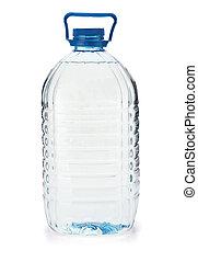 nagy, palack víz