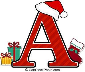 nagybetű, karácsony