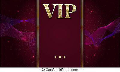 nagyon fontos személyiség, jutalom, kártya, poszter, flyer., tervezés, sablon, noha, arany-, ragyogás, ragyog, text., dekoratív, háttér, noha, gold szalag, és, szöveg, badge., különleges effektus, folyik, közül, dohányzik, 3, ábra