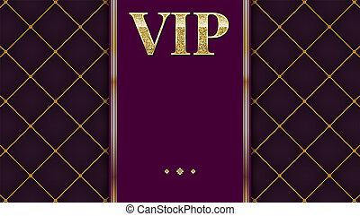 nagyon fontos személyiség, jutalom, meghívás, card., arany-, tervezés, noha, ragyogás, ragyog, szöveg, design., poszter, vagy, repülő, helyett, buli., tűzdelt, motívum, dekoratív, háttér, noha, gold szalag, és, szöveg, badge., 3, ábra