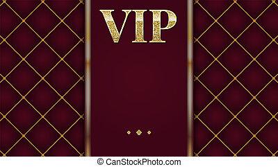 nagyon fontos személyiség, jutalom, meghívás, poszter, helyett, buli., arany-, tervezés, sablon, noha, ragyogás, ragyog, text., dekoratív, háttér, tűzdelt, motívum, noha, gold szalag, és, szöveg, badge., 3, ábra