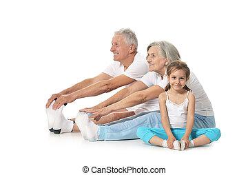 nagyszülők, leány