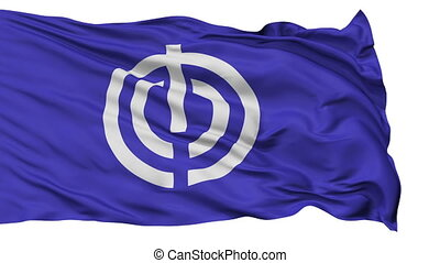 Naha Capital City Isolated Flag - Naha Capital City Flag,...