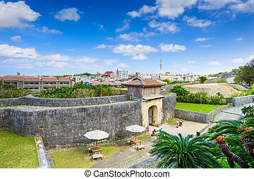 Naha Castle in Okinawa