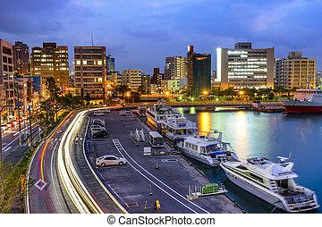 Naha, Okinawa, Japan Cityscape