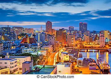 Naha, Okinawa, Japan Skyline