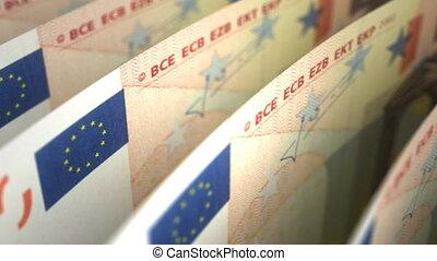 nahaufnahme, euro