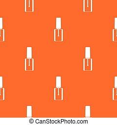 Nail polish bottle pattern seamless