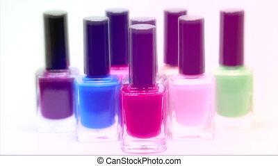 Nail Polish Bottles Different Colors - Nail Polish Bottles...