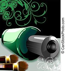 Nail polish - Illustration of Nail polish