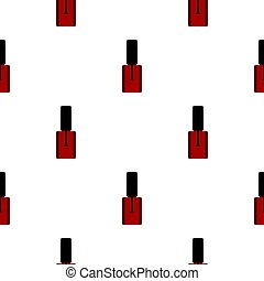Nail polish pattern flat