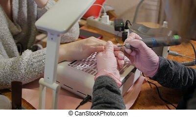 Nail treatment manicure beauty care tools