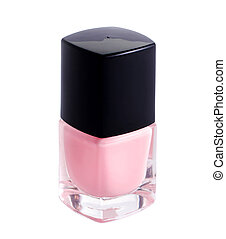 nail-varnish on a white background