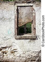 Nailed Ruin window