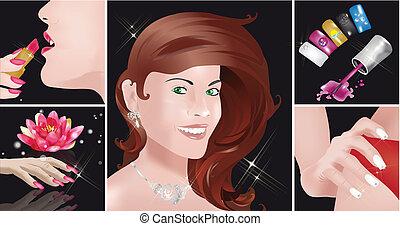 Nails Art and Beauty - 5 images regarding nails art,...