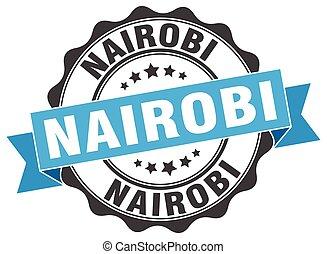 Nairobi round ribbon seal