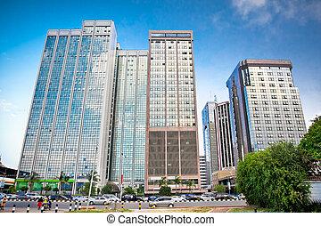 Nairobi, the capital city of Kenya. Afrcia.