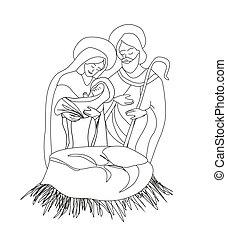naissance, jésus