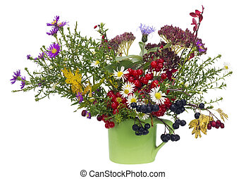 Naive rural October bouquet