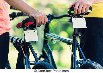 najem, bicycles