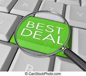 najlepszy, badawczy, transakcja, internet