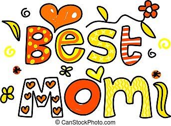 najlepszy, mamusia