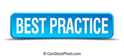 najlepszy, praktyka, błękitny, 3d, realistyczny, skwer,...