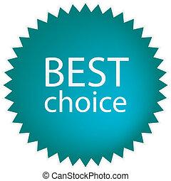 najlepszy, wybór