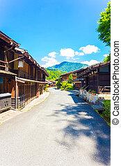 Nakasendo Tsumago Main Road Traditional Building V