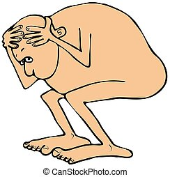Image result for naked and afraid clipart
