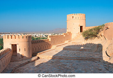 Nakhal Fort in Sultanate Oman.