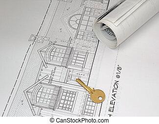 nakreslit plán