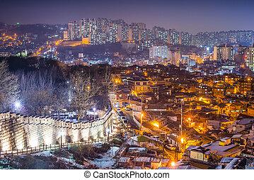 Naksan Park in Seoul, South Korea