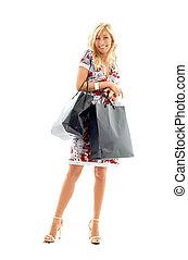 nakupování, dáma, #2