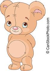 nallebjörn, söt