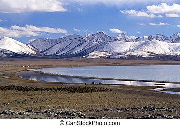 Nam Co lake in Tibet