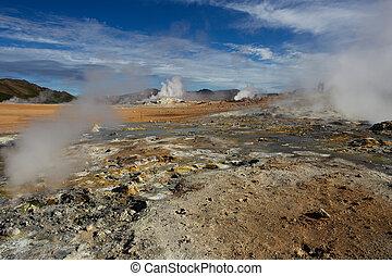 Namafjall Geothermal Area, Hverir, Iceland