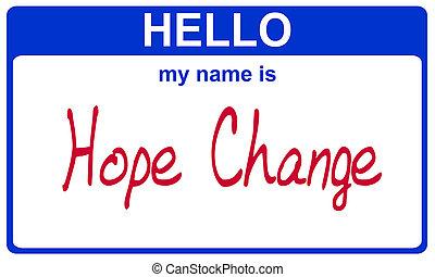 name hope change
