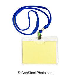 Name id card badge