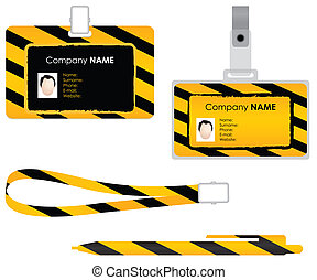 Name tag for id card - special desi