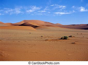 namib, dunas, arena, desierto