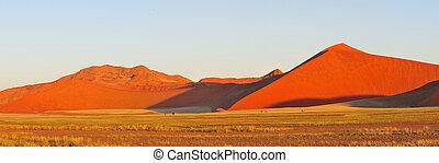 Namib panorama near Sossusvlei, Namibia