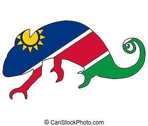 Namibia Chameleon