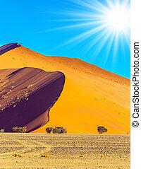 namibia, desierto de namib